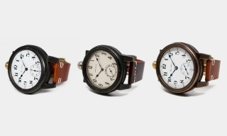 "Vortic's Custom ""Lancaster 026"" Watch Features Vintage Hamilton Movement"