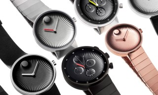 "Yves Behar Designs Movado's new ""Edge"" Timepiece"