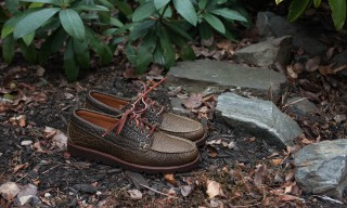 """Hand Sewn Sneakers"" by Rancourt for Portland Dry Goods"