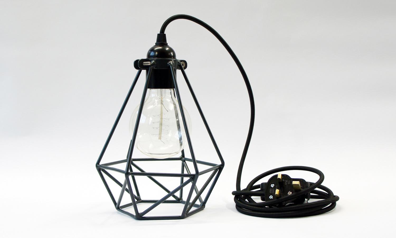 Electric-Shop-Diamond-Cage-Light-feature