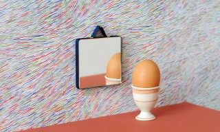Ribbon-Wrapped Mirrors by Inga Sempé for Hay Design